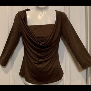 Candies Retro Blouse Brown Small